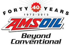 40 yrs  of amsoil logo